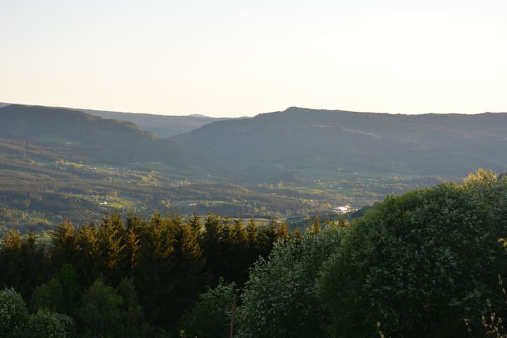 View over Gausdal