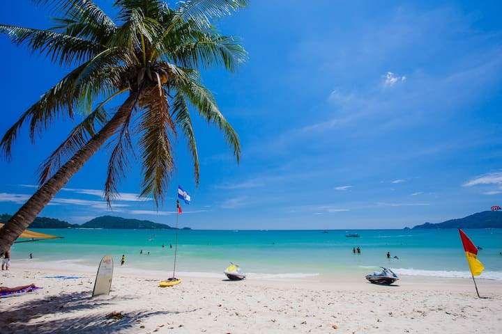 B superior king, sand and beach  - Patong - Wohnung