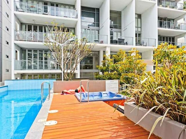 Single Room in Beautiful Perth CBD - East Perth - Appartement