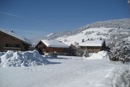 Two bed apartment in great location in Megeve - Megève - Wohnung