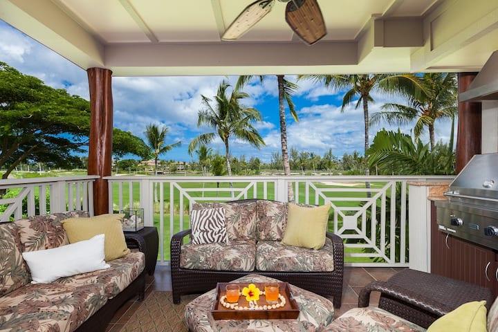 Waikoloa Beach Villas L22.  BBQ Grill on the lanai!