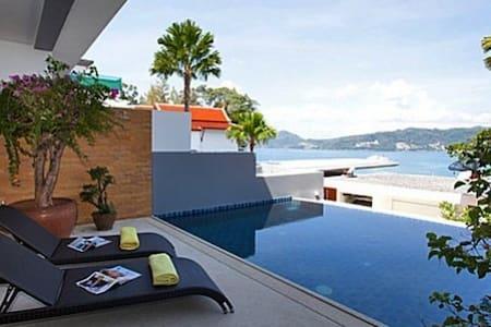 Atika Villa 2 oceanfront pool villa - Patong - Villa