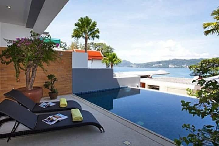 Atika Villa 2 oceanfront pool villa