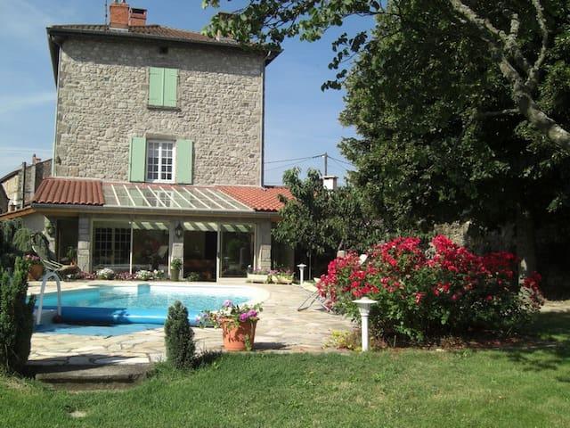 CARPE DIEM  2 chambres d'hôtes près de Lyon - Soucieu-en-Jarrest - Rumah Tamu