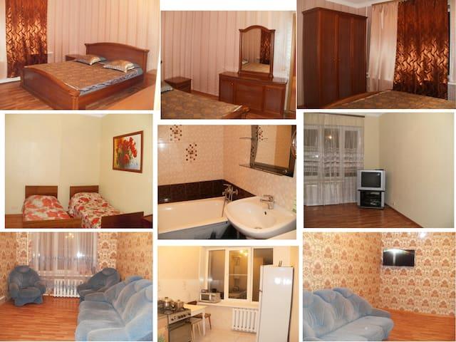 Комфортная квартира в старом центре - Rybinsk - Leilighet