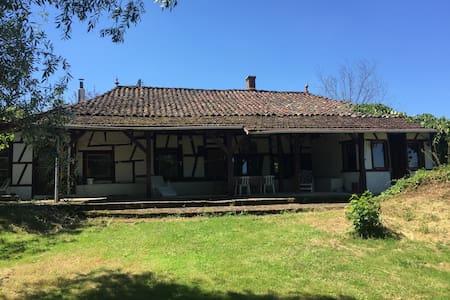 Natur Pur im Burgund - Montpont-en-Bresse