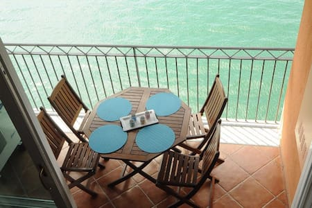 apartment terrace on the lake - Bellano