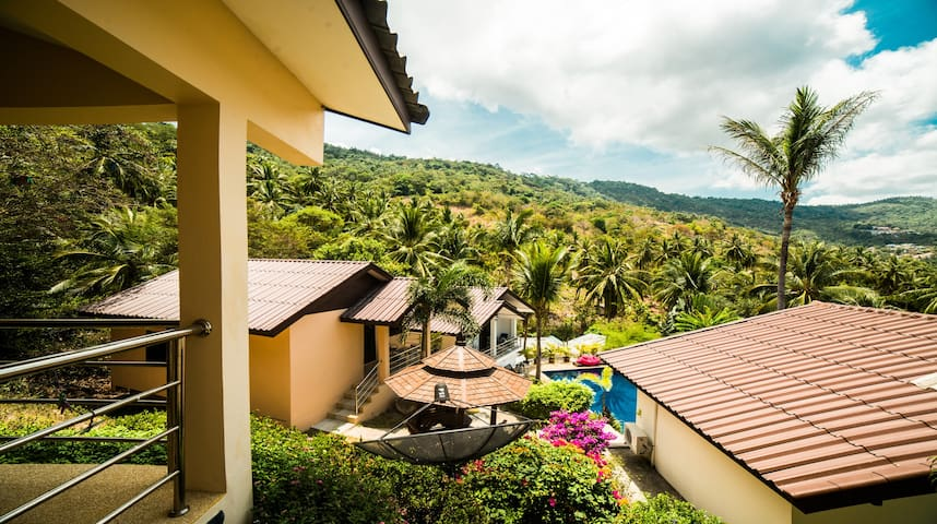 Bungalow with Gorgeous View - Ko Samui - Bungalow
