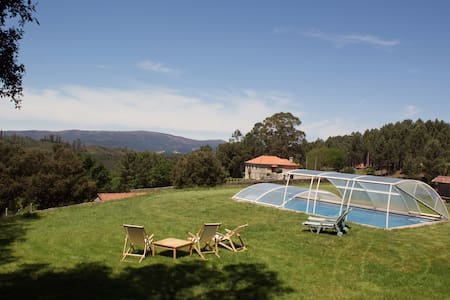 Portuguese Country House with pool - Romarigães - Haus