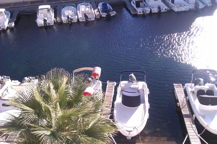 Studio terrasse vue sur les bateaux - Sete - Condominio