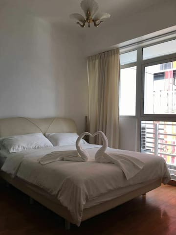 1BR DOWNTOWN CONDO BESIDE MRT TRAIN STATION - Singapore