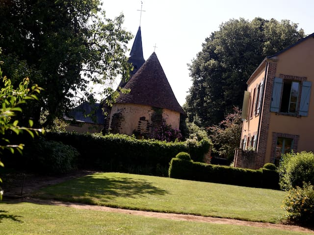 PRESBYTERE DE CHARME DANS LE PERCHE - Le Plessis-Dorin - Huis