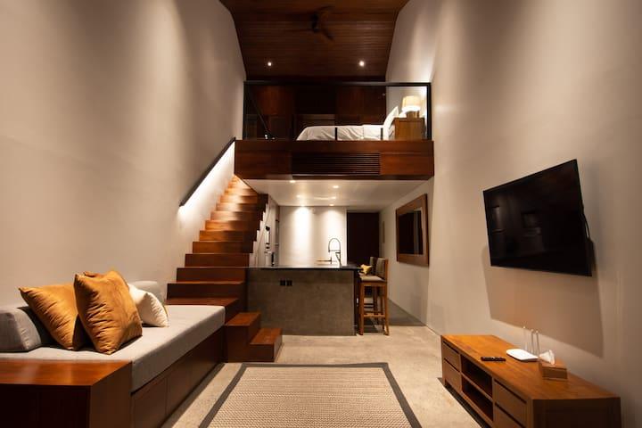 Beautiful New Loft Apartment Beachside Sanur