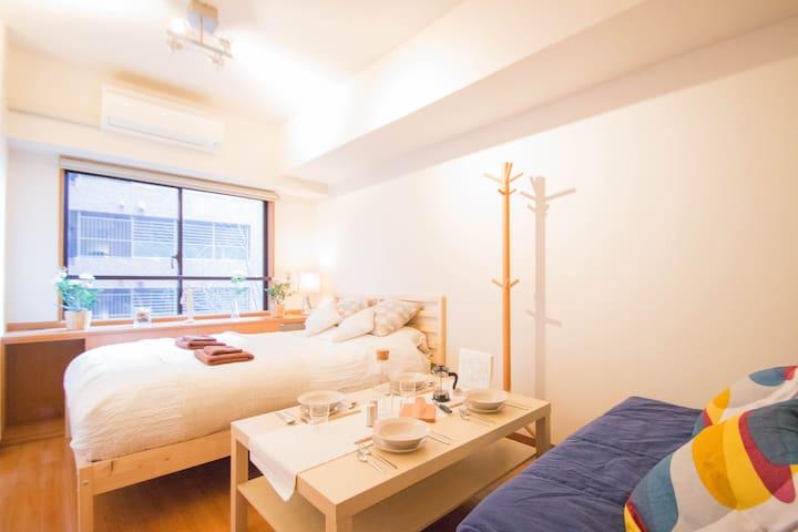 Comfortable Studio APT Shin-Osaka - Ōsaka-shi - Wohnung