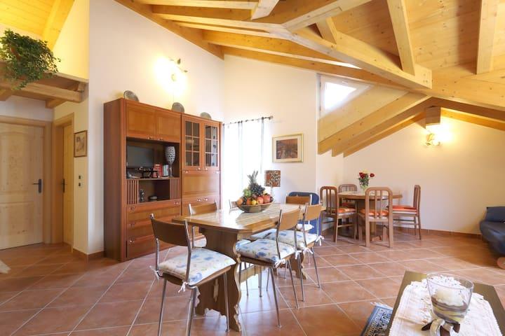 Appartamento romantico,stile rustic - Canal San Bovo - Apartamento
