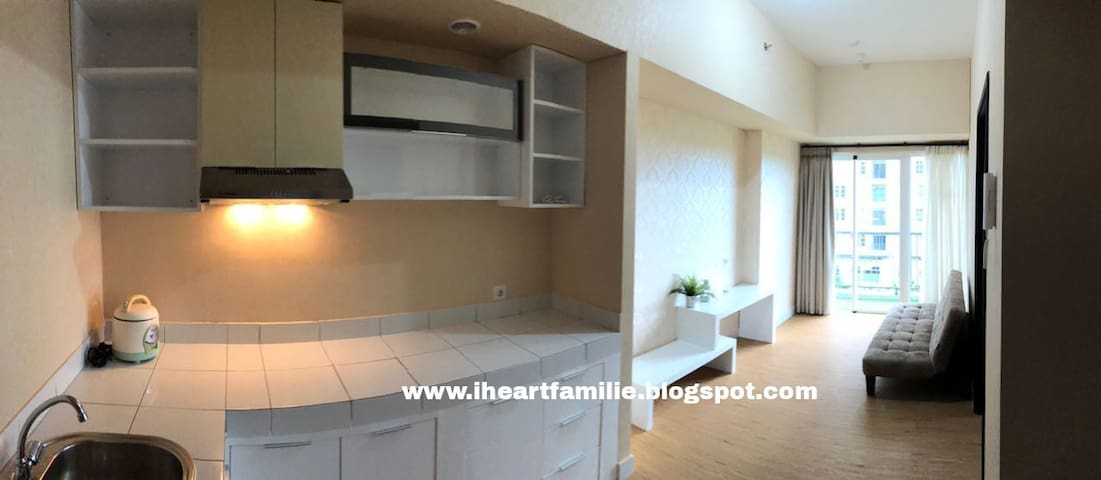 A COZY APARTMENT in BSD City close to AEON&ICE BSD