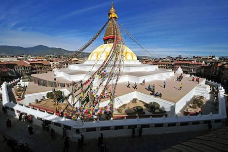 Budget cosy house in Boudhanath