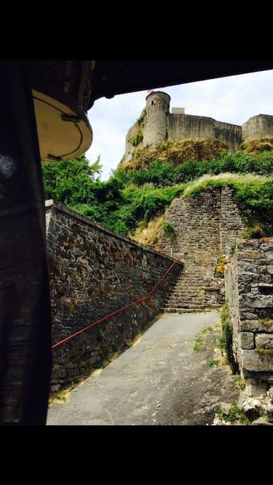 Vue du château de la deuxieme chambre
