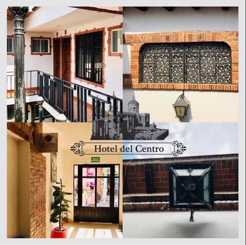"""""""Hotel del Centro, el mejor lugar para descansar"""""""