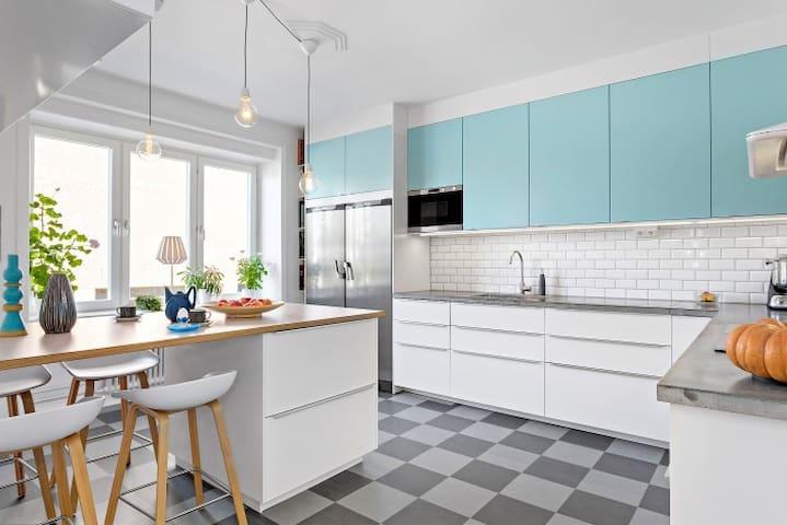 SPACIOUS APARTMENT & GREAT CENTRAL LOCATION - Malmö - Apartment