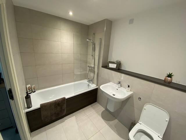 Bright Modern Apartment 5mins from city centre