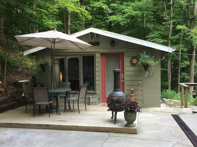 Cozy Cottage in the Woods - Bloomington - Cabin