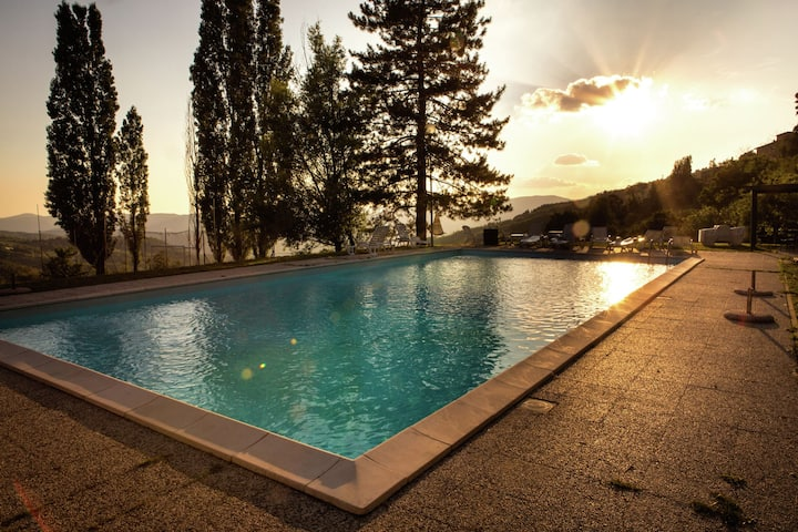 Gorgeous Farmhouse in Rufina with Shared Swimming Pool
