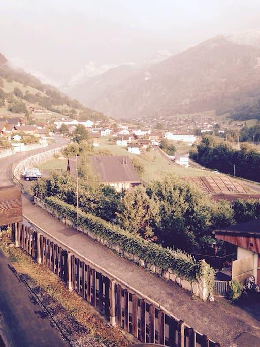 View in direction Montagnier