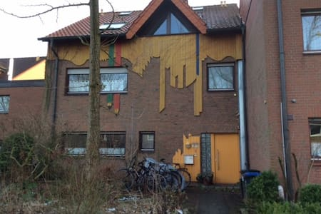 Angenehmes 2-Bett Zimmer im NW von Münster - Munster - Casa a schiera