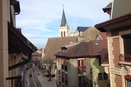70m² atypique plein centre - Thonon-les-Bains - Huoneisto