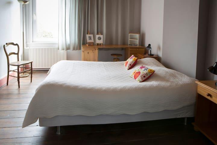 Chambre 2 (lit double)