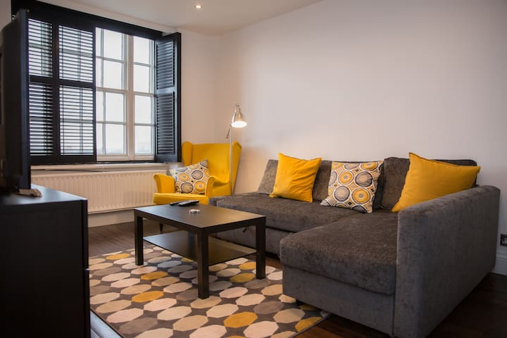 Modern, Character Apt with WiFi and Netflix