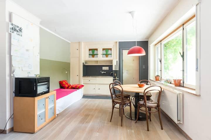 Kamer met lavabo - dorpshoeve tussen Gent & Brugge