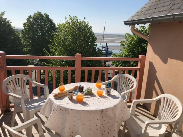 Appartement vue sur la baie