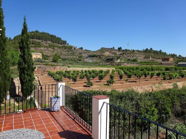 """Maison rurale """"Los Cipreses"""" (Les Cyprès) Bolbaite - Bolbaite - House"""