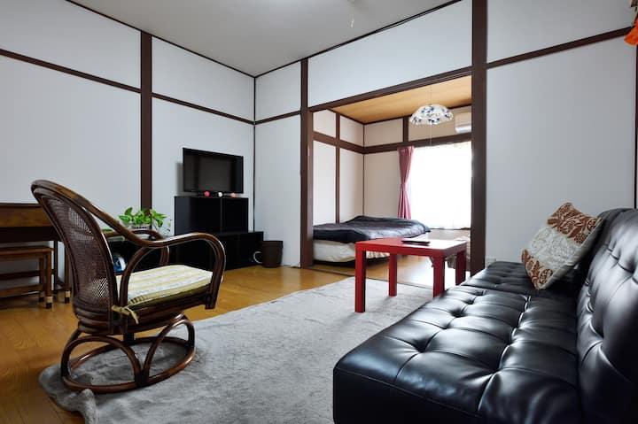 Easy to go! Osaka,Namba, Kyoto,Nara, USJ, Near ST.