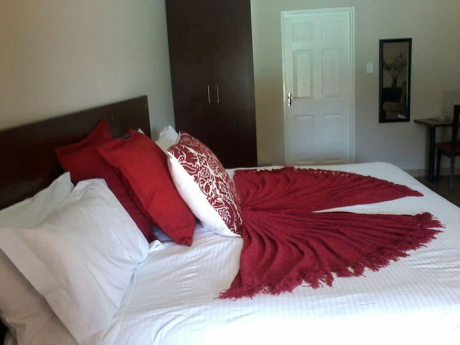 King Size beds,very comfortable and spacious rooms
