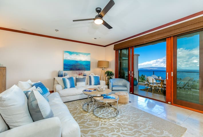 Panoramic Ocean Views! Wailea Beach Villa I503