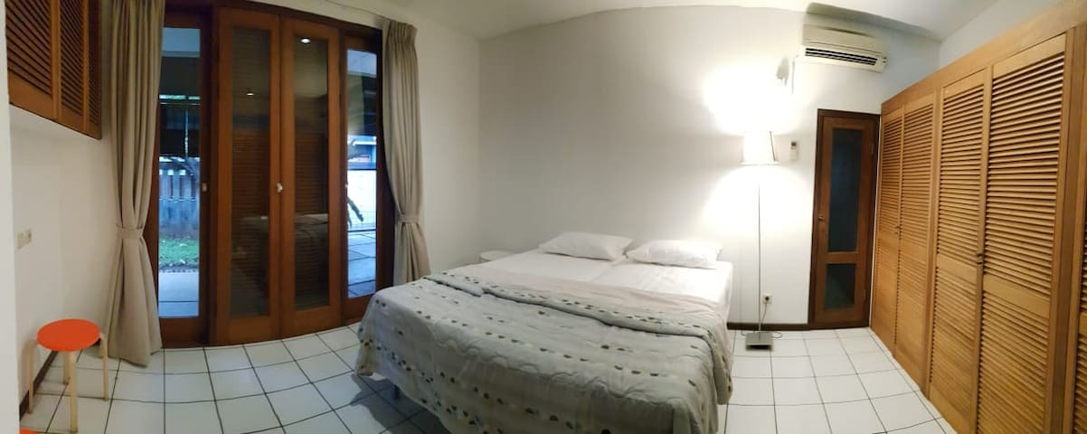 Bedroom - Double Bed Configuration