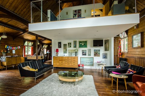 The Mission - a stunning Tin Tabernacle conversion