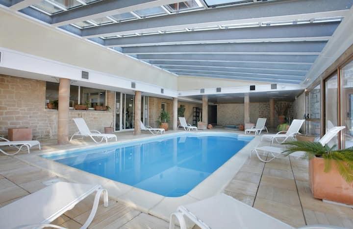 Bolquere  App T2 4 pers ( piscine, jacuzzi, sauna)
