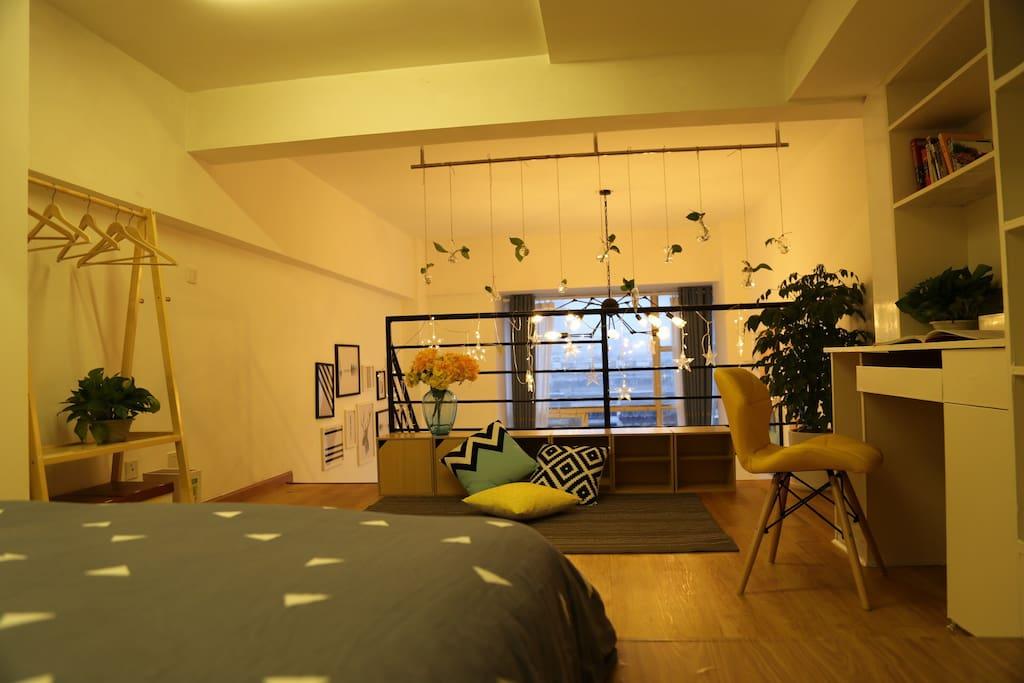 二楼的空间。