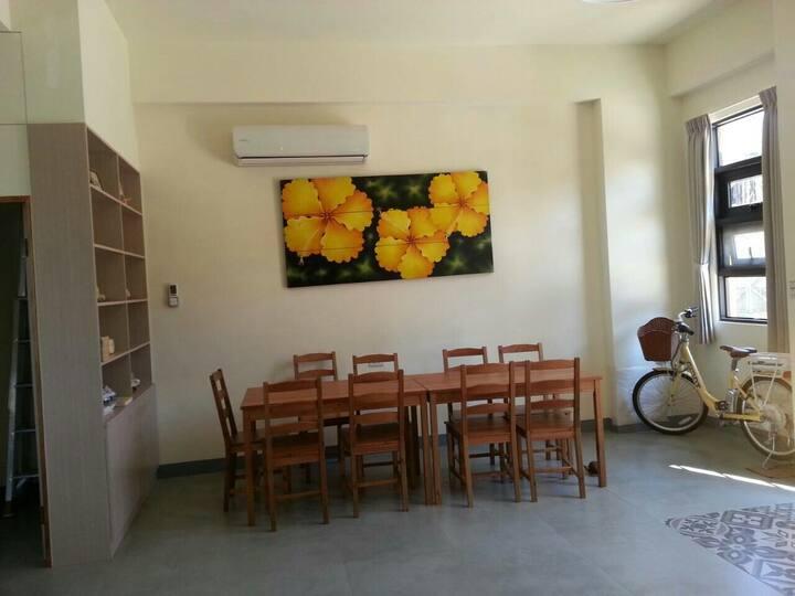 小黃花馬公市區獨立雙人套房