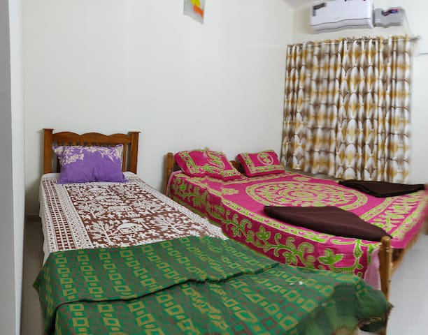 Bed Room 2 with Double & Single Bed