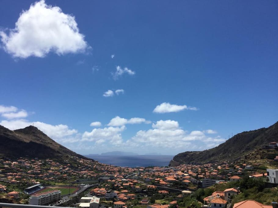 The only suite that can give you such a panoramic view of Machico Bay.