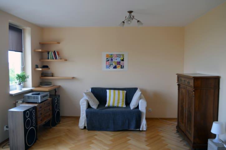 Beautiful sunny apartment - Cracóvia - Apartamento
