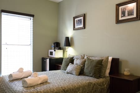 Private Room with Bathroom Midtown - Houston - Hus