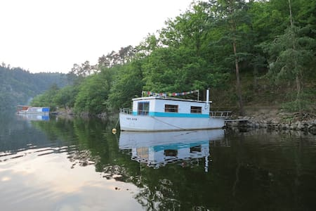 Houseboat Gulliver near Prague - Cholin - Kapal