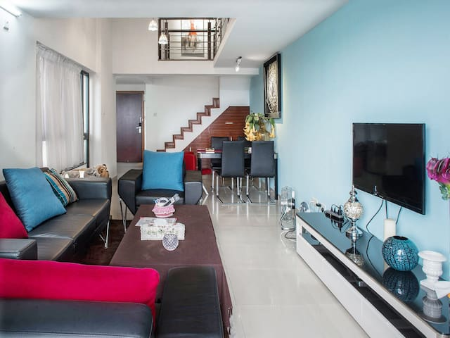 Warm high-rise duplex (near the Furniture City) - Foshan - Pis