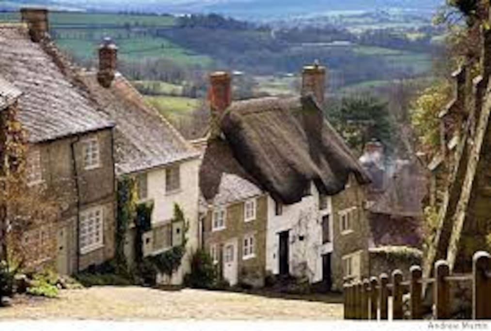 Dorset with it's beautiful countryside and villages is on the doorstep